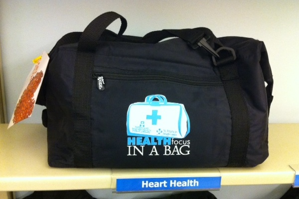 Health bags are available on dozens of health and wellness topics.